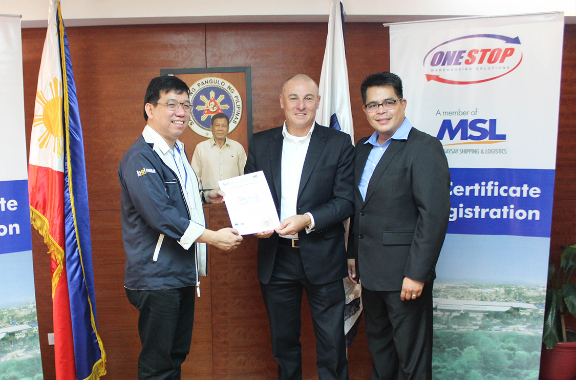 BOI awards registration certificate to OWSI - Magsaysay Transport
